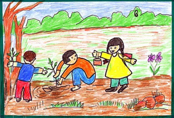 environment drawing