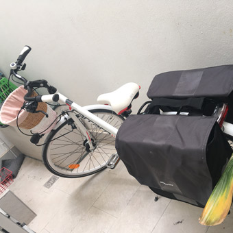 bicycle for shopping