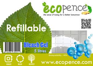ecopence refillabel soap bleach gel