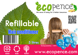 ecopence refillabel hair conditioning