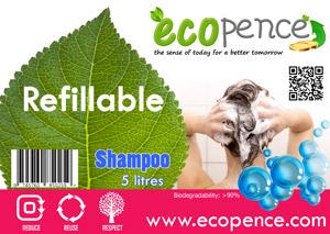 ecopence refillabel shampoo