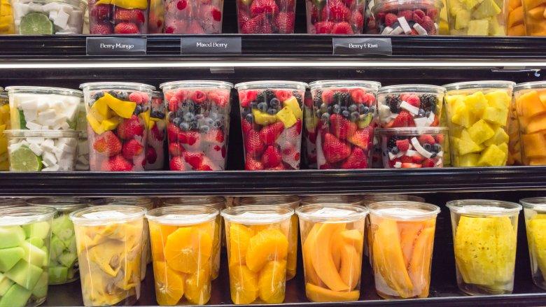 prepacked fruit