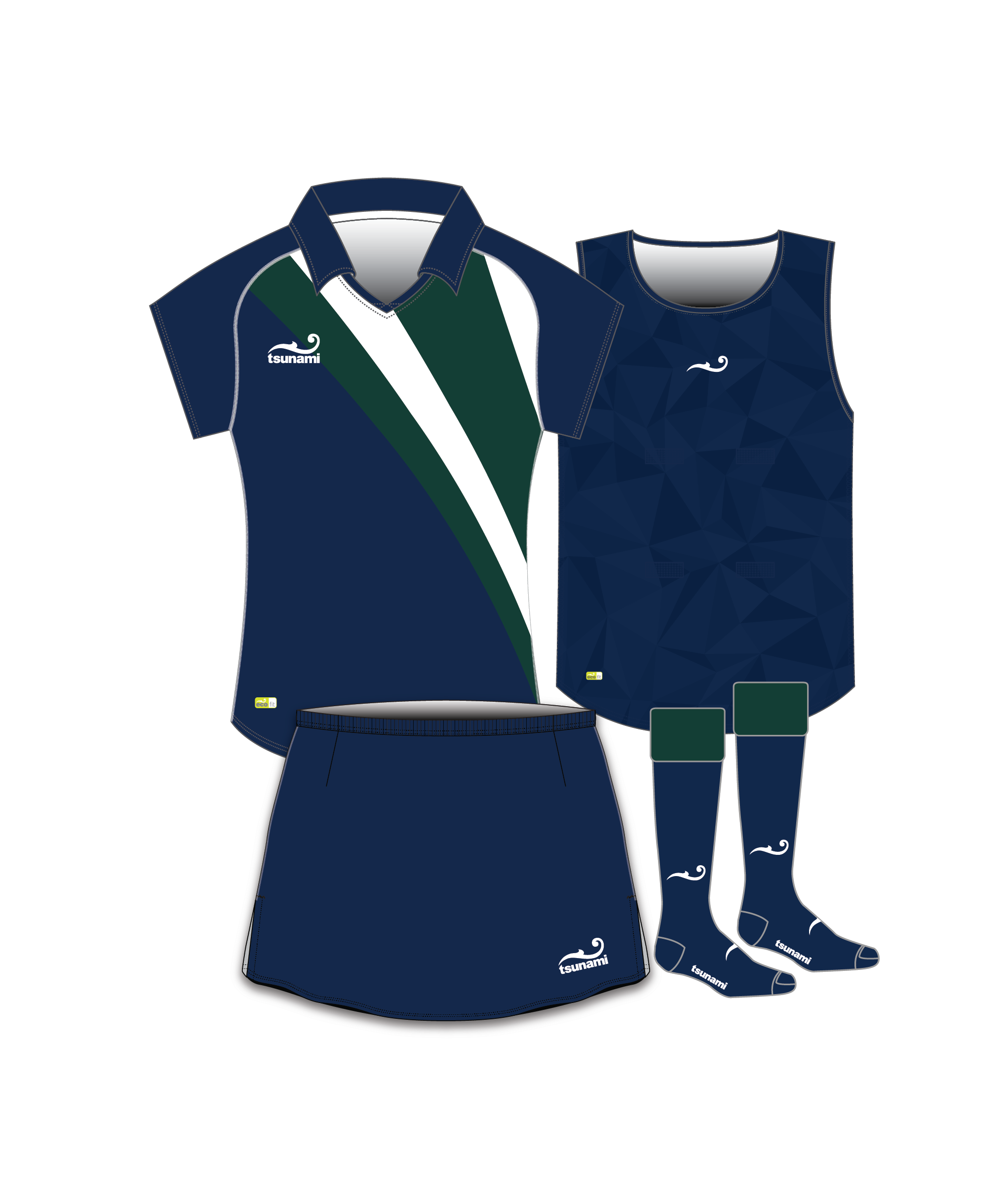 Eco Ladies Hockey Kit